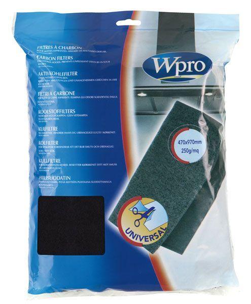 ucf007 filtre hotte charbon actif 250g m 47x97cm w pro. Black Bedroom Furniture Sets. Home Design Ideas